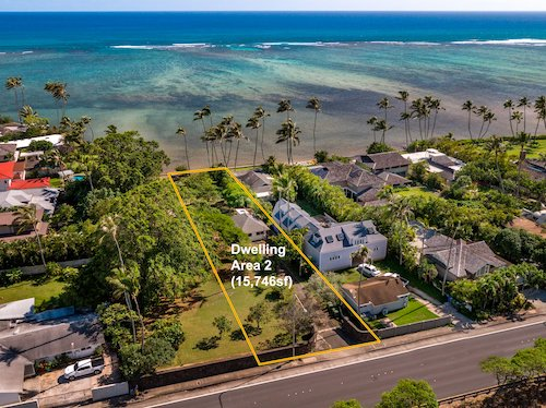 Beachfront Oahu land for sale